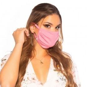 KouCla Cotton Face Mask - Rose Pink