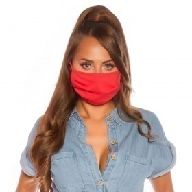KouCla Reusable Face Mask - Light Red