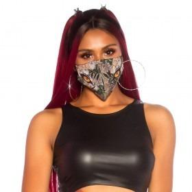 KouCla Animal Print Face Mask - Jungle