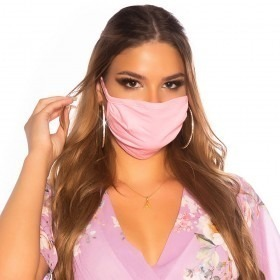 KouCla Cotton Face Mask - Light Pink