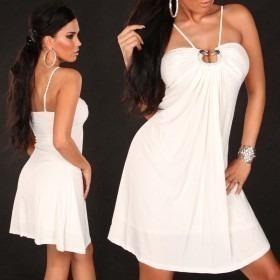 KouCla Babydoll Dress - White