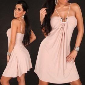 KouCla Babydoll Dress - Light Pink