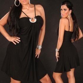 KouCla Babydoll Dress - Black
