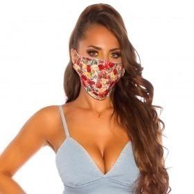 KouCla Flower Print Face Mask